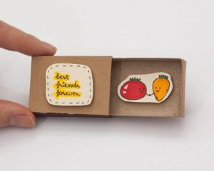 Cute DIY Matchbox Cards for Best Friend