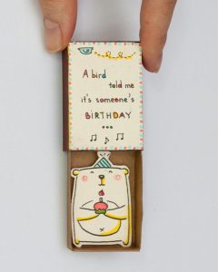 Cute DIY Matchbox Cards for Birthday