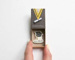 Cute DIY Matchbox Cards for Graduation