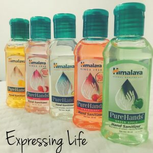 Product Review: Himalaya Herbals PureHands Hand Sanitizer Review | Expressing Life