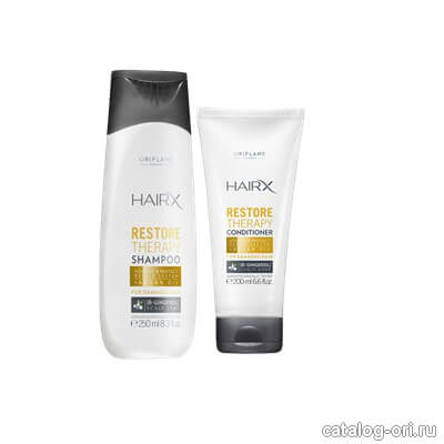 Product Review: Oriflame HairX Restore Therapy Shampoo & Conditioner | Expressing Life