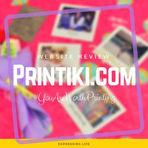 Website Review: Printiki.com | Expressing Life