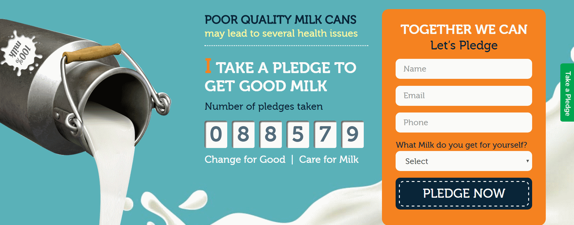 'Care for Milk' Campaign by Jindal | Expressing Life