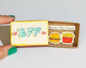 Cute DIY Matchbox Cards for Friends Best Friend