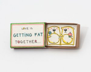 Cute DIY Matchbox Cards for Anniversary