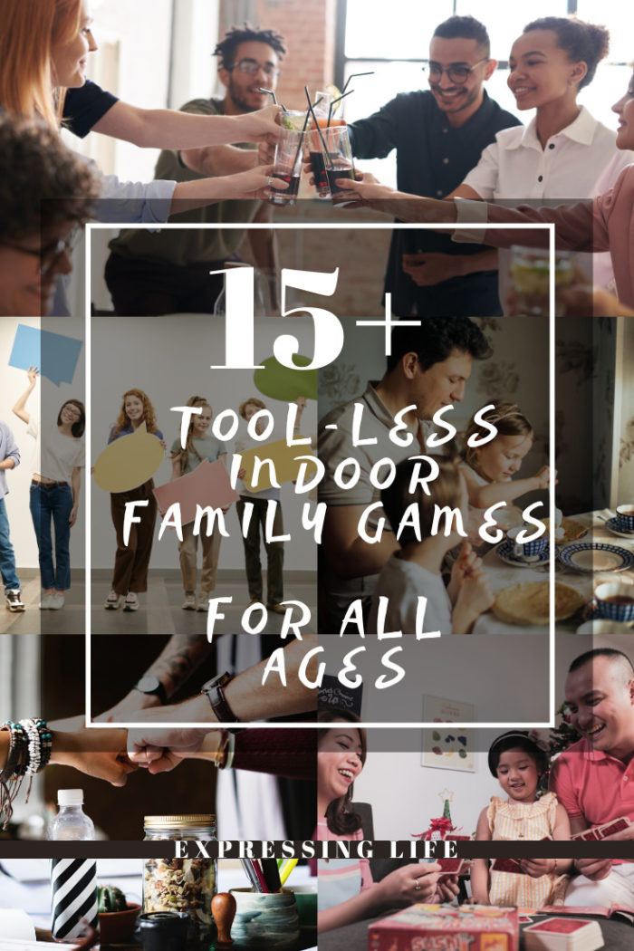 tool-less family games, party games, indoor games