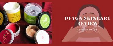 deyga skincare review, expressing life by radhika
