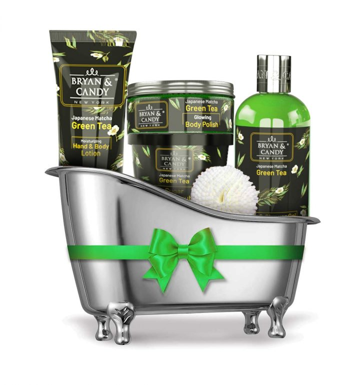 bryan and candy green tea spa kit